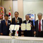 韓国姉妹クラブ 昌原RC創立40周年記念式典or第10回調印式の報告